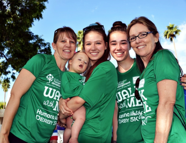 Active Moms AZ Blog supports Walk With Me Southwest Human Development.